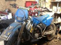 Tm 125 motor cross off road bike spares or repairs may px