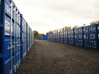 20Foot (160 sq ft) storage unit for only £15.00 per week