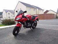 suzuki sv650s (2005) low miles,excellent condition,8 months mot,lots of extras,ready to ride away.