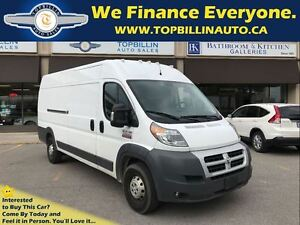 2014 Ram ProMaster 3500 Diesel, High Roof, Extended 159 WB