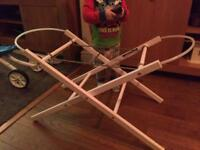 2 Moses basket stands