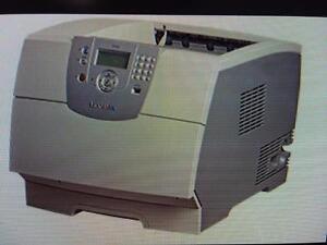 Lexmark T642 Lexmark lazer printer ethernet