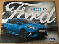 Ford Focus RS 2016 Brochure