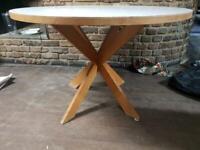 Retro / Vintage Circular Dining Table