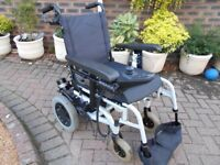 Quickie power wheelchair/scooter