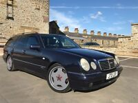 MERCEDES E55 AMG 7 SEATER FULLY LOADED SUNROOF FSH