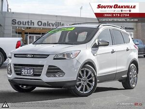 2015 Ford Escape SE   4X4   BLUETOOTH   HEATED LEATHER   NAVIGAT