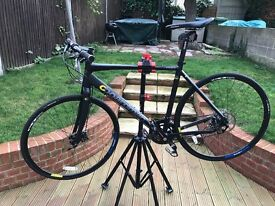 Hybrid boardman pro bicycle , frame 54 cm, ridden 4 times in excellent condition like new.