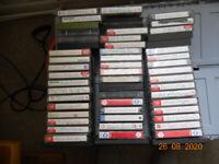 54 Cassette music tapes