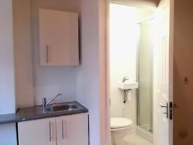 Bedsit/Double Room with ensuite (NEWLY-REFURBISHED) & free WiFi