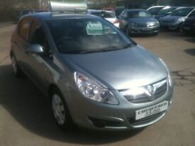 60 PLATE VAUXHALL CORSA 1.2 EXCLUSIV 5DR 57000MILES £3650