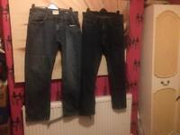 Bundle of men's jeans
