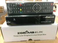ZGEMMA H5,2TC TRIPLE TUNER BOX