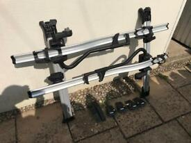 Thule Roof Bars, Wing Bar Edge and Thule Bike Racks.