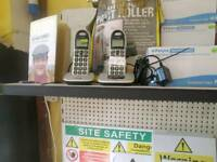 Double BT set of cordless phones