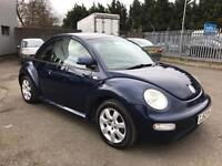 Volkswagen Beetle 2.0 3 DOOR HATCHBACK (blue) 2002