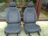 Mini one front seats