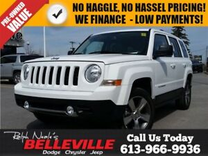 2016 Jeep Patriot High Altitude-Sunroof-Bluetooth