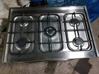 Commercial/industrial/domestic stainless steel oven and hob