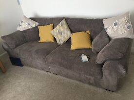 SCS 2 seater and 4 seater sofas