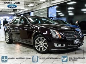 2008 Cadillac CTS Panoramic Moon roof, Premium leather package,