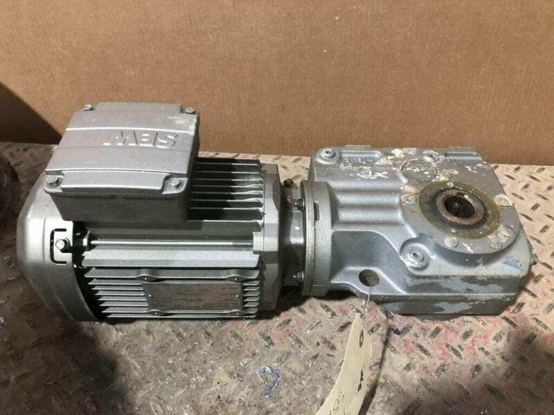 Sew-Eurodrive DRE80M4/FG/DH 1HP Electric Motor 1770RPM 3PH w/ Speed Reducer