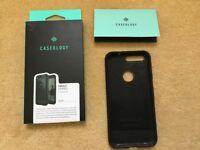 Google Pixel 1 Caseology Vault Series Case Cover Black