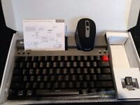 Wireless and BT Mechanical Keyboard and Mouse Combo