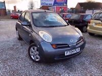 04 NISSAN MICRA SVE 1.4 PETROL AUTO IN GREY *PX WELCOME* MOT TILL MARCH 2018 £995