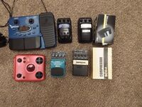 Effects pedals for Guitar or Bass