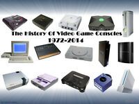CLEARING OUT YOUR LOFT OF OLDER GAMES CONSOLES AND GAMES ,MESSAGE ME A PRICE THANKS