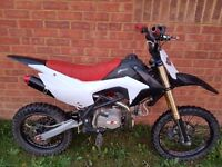 140cc big wheel pit bike/ pitbike/ dirt bike/ scrambler/ stomp/ demon x/ thumpstar