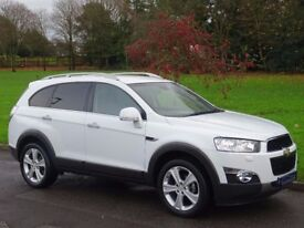2012 (62) Chevrolet Captiva 2.2 VCDi LTZ 4X4 5dr - 36,000 MILES ONLY - HUGE SPECIFICATION
