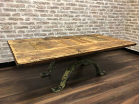 Large Bespoke Industrial Coffee Table