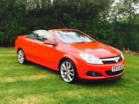 2007 VAUXHALL ASTRA 1.8 TWIN TOP 87.000 MILES. AUTOMATIC