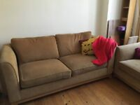 Comfortable 3 Seater Sofa and Two Chair Set
