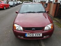 Ford Fiesta 1.25 Ghia 2001(51) Brand new clutch and battery - Belgrave LE4