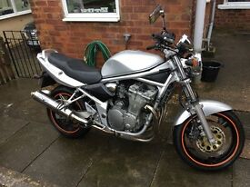 Suzuki Bandit 600 2004 Silver Full service history and more