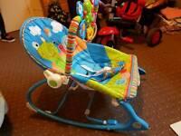 Fisher price 0 - toddler rocking chair
