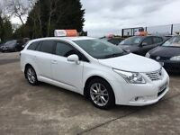 Late 2010 Toyota Avensis 2.0 D4D Diesel Estate **Full History** (passat, accord,civic,a4)