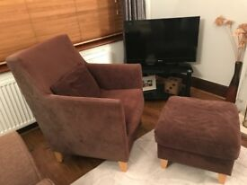 Chair and Footstool,