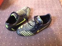 Size 8 football boots (worn twice)