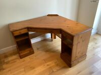 Ducal Victoria Pine Corner Desk