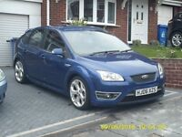 FORD FOCUS ST 2006. 225bhp. 83k miles. Comes fully serviced and 12mths MOT. Very reluctant sale.