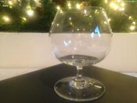 Baccarat Crystal Cognac Brandy Balloon Glass - purchased from Christies Auctions of London