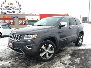 2015 Jeep Grand Cherokee LIMITED**SUNROOF**LEATHER**NAVIGATION**