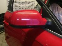 Audi A4 b8 wing mirror red 2008-2014 driver side o/s