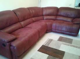 Large Recliner Corner Sofa