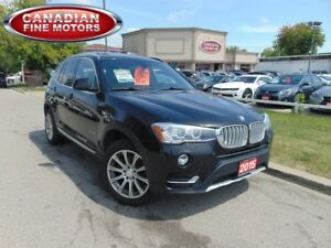 2015 BMW X3 XDRIVE 28i|CAM|PANO|NAVI|LEATHER|CLEAN CAR PROOF
