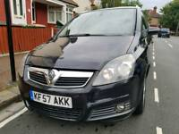 Vauxhall Zafira 2007 diesel low mileage 112k full service history 1 year MOT part exchange welcome